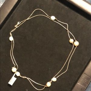 David Yurman 48 inch Baroque Pearl Necklace